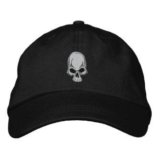 Gorra bordado cráneo gorra de béisbol bordada
