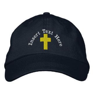 Gorra bordado cristiano