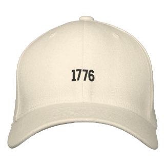 Gorra bordado de la revolución americana 1776 gorras bordadas