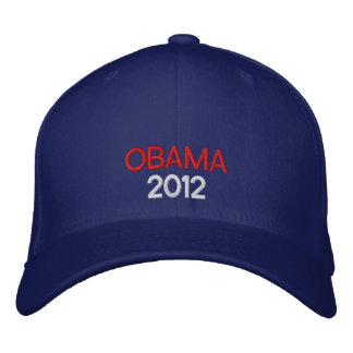 Gorra bordado de Obama 2012 Gorra De Beisbol