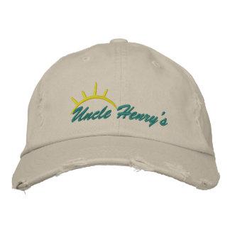 Gorra bordado de tío Henry Gorra De Beisbol