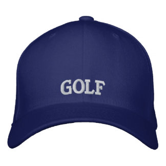 Gorra bordado del golf gorros bordados