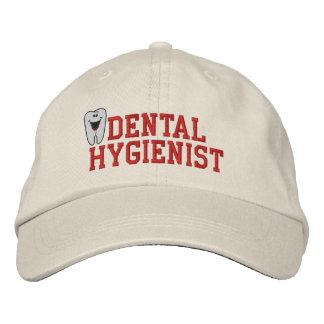 Gorra bordado del higienista dental