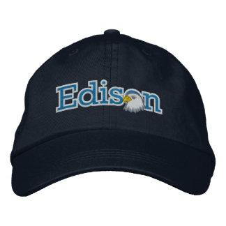 Gorra bordado del logotipo del Masthead de Edison Gorras De Beisbol Bordadas