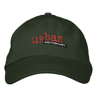 Gorra bordado diccionario urbano de encargo