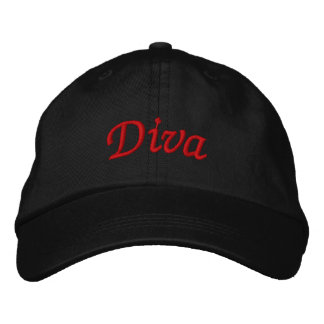 Gorra bordado diva