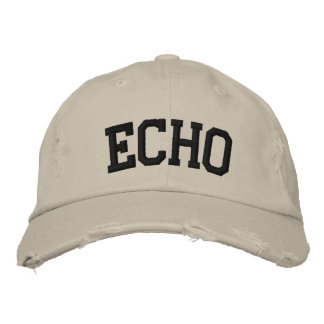 Gorra bordado eco
