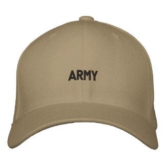 gorra bordado ejército gorra de béisbol