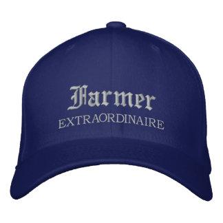 Gorra bordado Extraordinaire del granjero Gorros Bordados