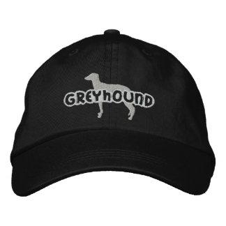 Gorra bordado galgo de la silueta gorras bordadas