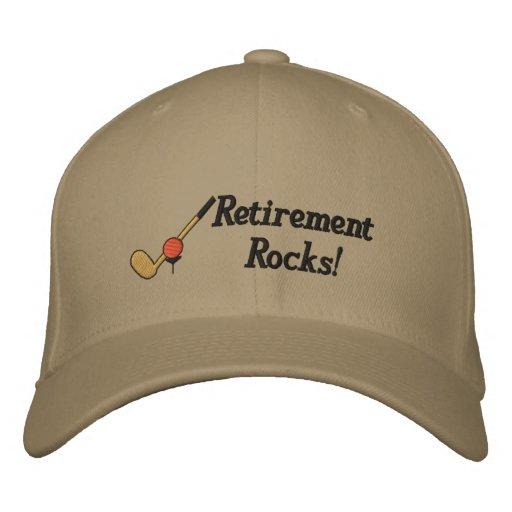 Gorra bordado golf del retiro gorra de beisbol