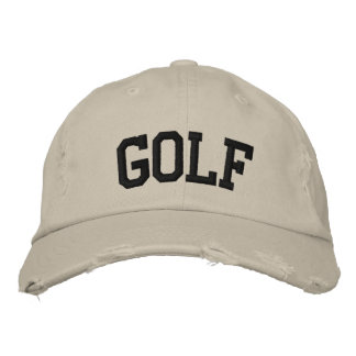 Gorra bordado golf gorra bordada