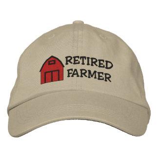 Gorra bordado granjero jubilado gorras de béisbol bordadas