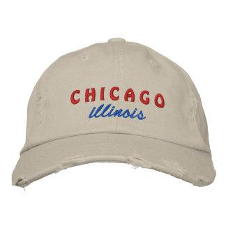 gorra bordado Illinois de Chicago Gorra De Béisbol Bordada