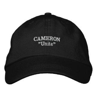 Gorra bordado lema del clan de Cameron