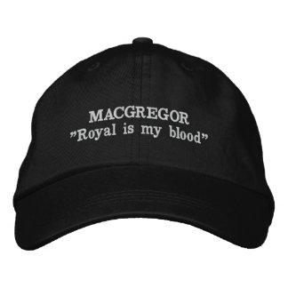 Gorra bordado lema del clan de MacGregor