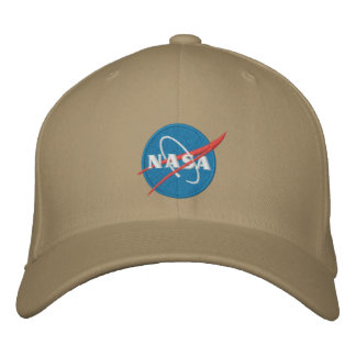 Gorra bordado logotipo de la NASA