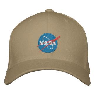 Gorra bordado logotipo de la NASA Gorras De Beisbol Bordadas