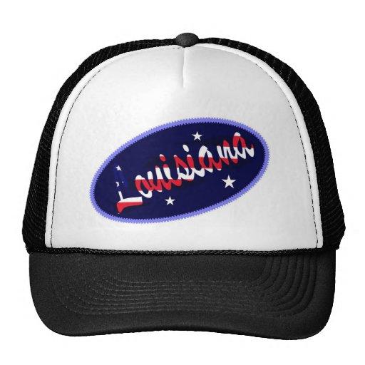 Gorra bordado los E.E.U.U. del efecto de Luisiana