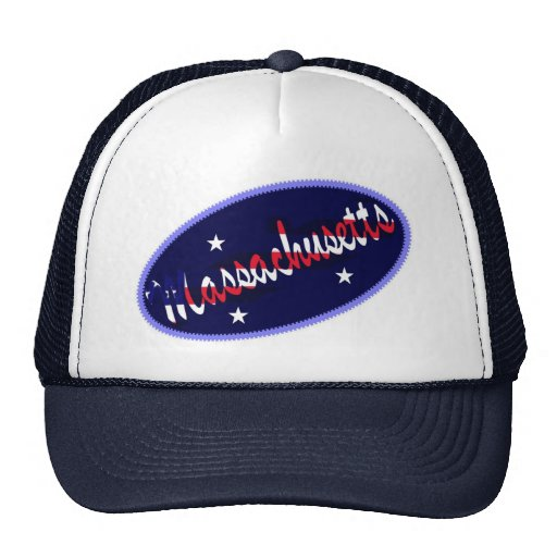 Gorra bordado los E.E.U.U. del efecto de Massachus