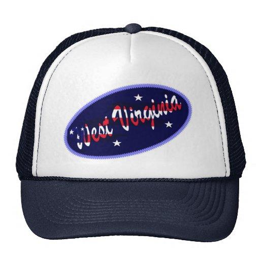 Gorra bordado los E.E.U.U. del efecto de Virginia