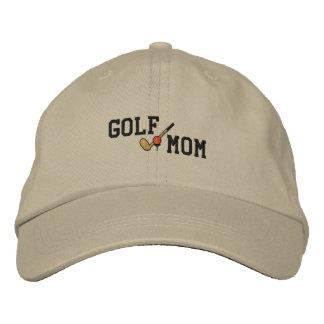 Gorra bordado mamá del golf