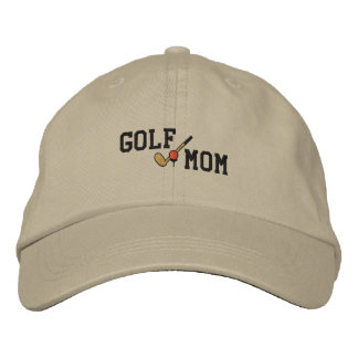 Gorra bordado mamá del golf gorra bordada