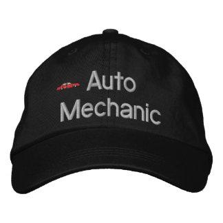 Gorra bordado mecánico de automóviles gorra de beisbol bordada