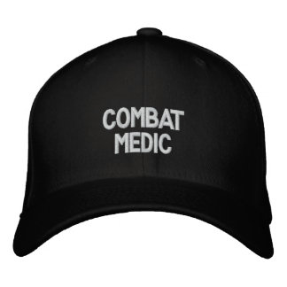 Gorra bordado médico del combate gorras de béisbol bordadas