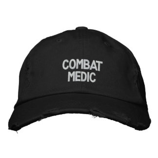 Gorra bordado médico del combate gorra de beisbol