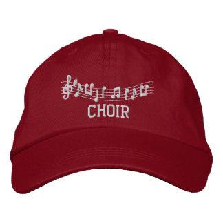 Gorra bordado música del coro