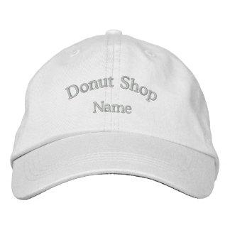 Gorra bordado nombre de la tienda de buñuelo gorro bordado