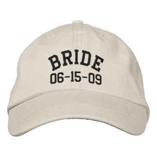 Gorra bordado novia personalizado gorra bordada