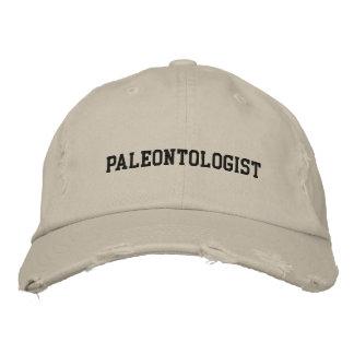 Gorra bordado paleontólogo