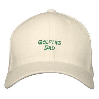 Gorra bordado papá Golfing Gorros Bordados