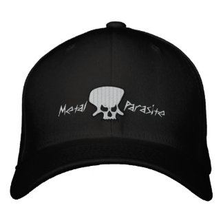 Gorra bordado parásito del metal gorras bordadas