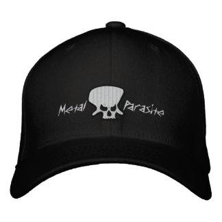 Gorra bordado parásito del metal gorra de béisbol