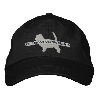 Gorra bordado PBGV de la silueta