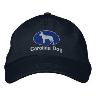 Gorra bordado perro de Carolina (oscuro) Gorra De Béisbol Bordada