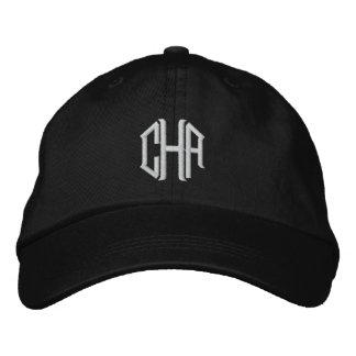 Gorra bordado personalizado con su monograma