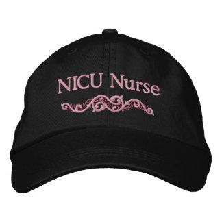 Gorra bordado personalizado de la enfermera de gorra bordada