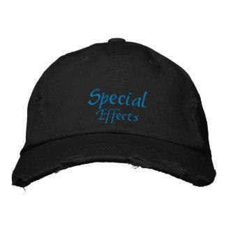 Gorra bordado personalizado de los efectos especia gorras bordadas