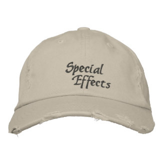Gorra bordado personalizado de los efectos gorra de beisbol