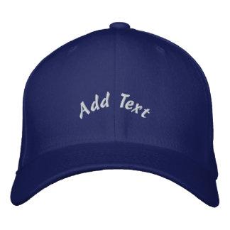 Gorra bordado personalizado gorras de béisbol bordadas