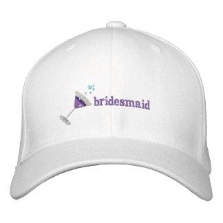 Gorra bordado personalizado Martini púrpura Gorras De Beisbol Bordadas