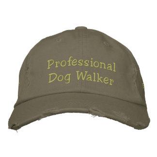 Gorra bordado personalizado profesional del gorra de béisbol bordada