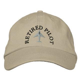 Gorra bordado piloto jubilado