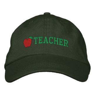 Gorra bordado profesor