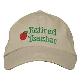 Gorra bordado profesor jubilado