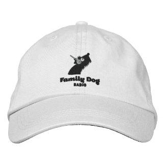Gorra bordado radio del perro de la familia gorra de béisbol bordada